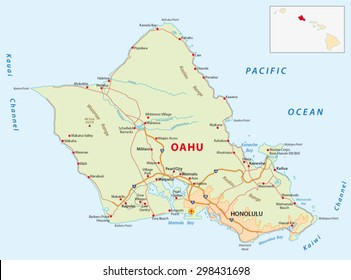 oahu road map