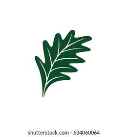 Oak leaf logo design