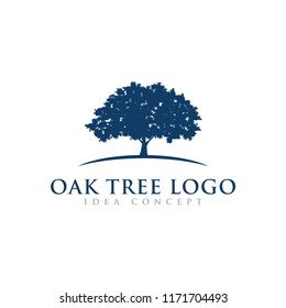 Oak Tree Logo Design Template
