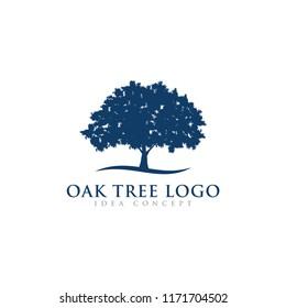 Oak Tree Logo Design Template
