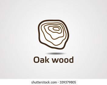 Oak Wood Logo