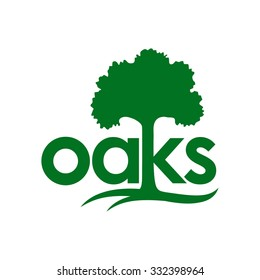 Oaks Logo Template