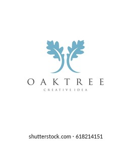 Oaktree Logo Template