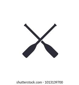 oars vector icon