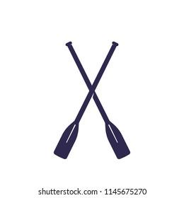 oars vector illustration