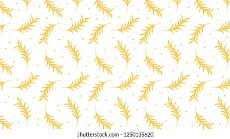 Oat pattern vector. free space for text. rice.