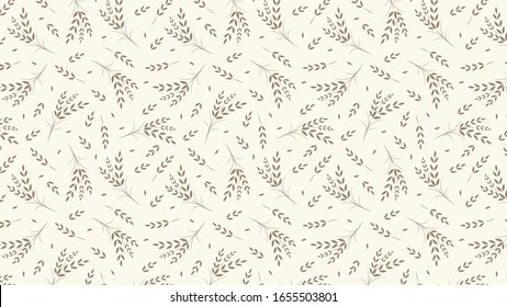 Oat pattern wallpaper. oat symbol. free space for text. rice sign. Rice pattern wallpaper.