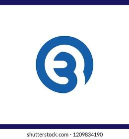 OB Initial Letter Logo Vector Element. OB Initial Template