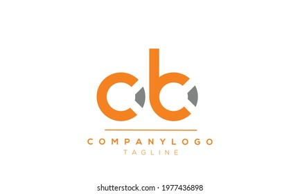 OB initials monogram letter text alphabet logo design