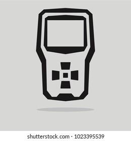 OBD2 scanner car diagnostic interface icon