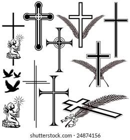 obituary signs and symbols
