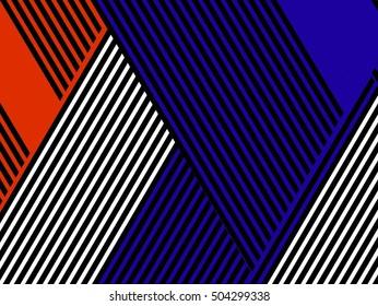 Oblique, diagonal lines pattern.