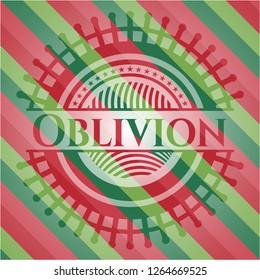 Oblivion christmas style emblem.