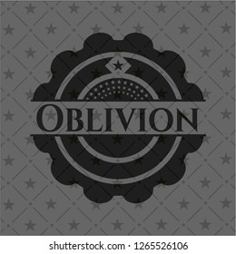 Oblivion dark icon or emblem