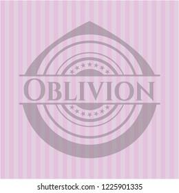 Oblivion realistic pink emblem