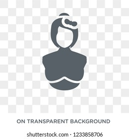 Obstetrician and Gynecologist icon. Trendy flat vector Obstetrician and Gynecologist icon on transparent background from Professions collection.