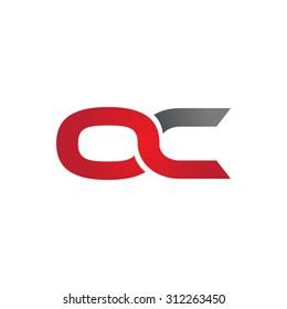OC company linked letter logo