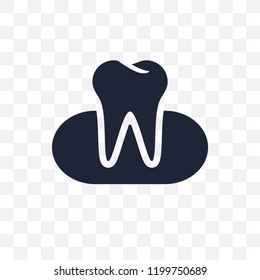 Occlusal transparent icon. Occlusal symbol design from Dentist collection. Simple element vector illustration on transparent background.