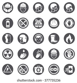 Occupational Safety and Health Icons