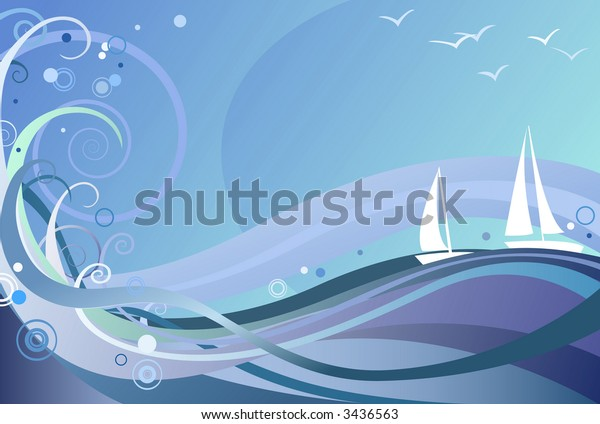 Ocean Background, also available in high-res jpg