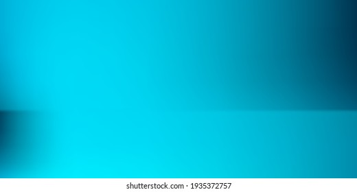 Ocean Sea Dark Original Screens Background. Blank Blue Water Smooth Watercolor Colorful Surface. Azure Turquoise Modern Bright Gradient Mesh Illustration. Aqua Vibrant Empty Smooth Surface Backdrop.