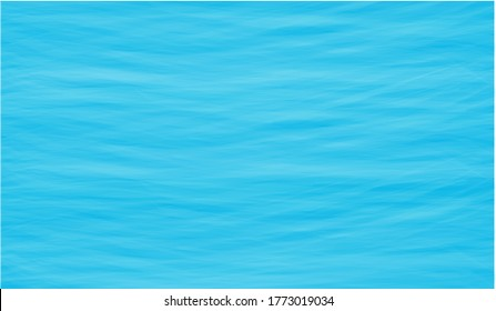 Ozeanoberfläche in flachem Design - Overlays