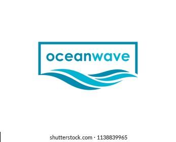 ocean wave logo design inspiration