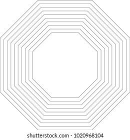Octagon Geometric Pattern