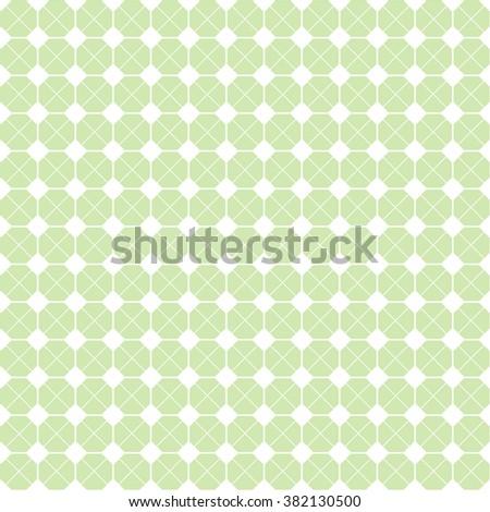 Octagon Grid Design Vector Seamless Pattern Stock Vector (Royalty ...