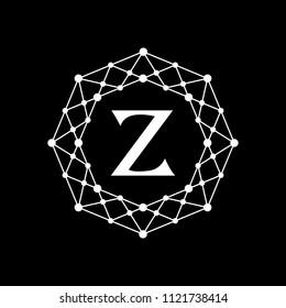 Octagon logo letter Z