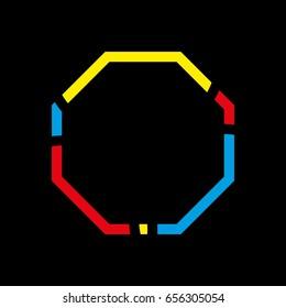 octagon logo vector