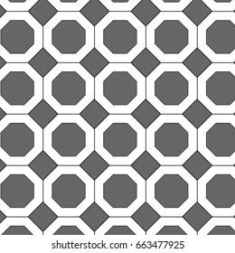 Octagon pattern vector