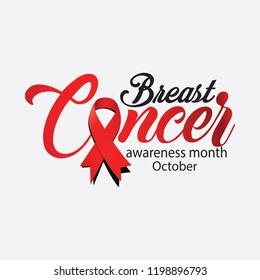 October and Cancer awareness