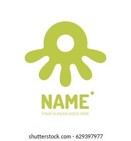 Octopus, logo design vector template. Symbol concept icon.