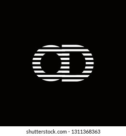 OD Logo Letter initial Designs Templete