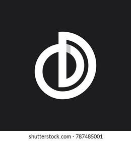 OD Monogram  Lettermark mark letter