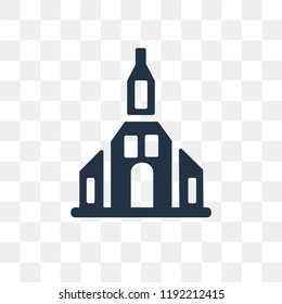 Odense vector icon isolated on transparent background, Odense transparency concept can be used web and mobile