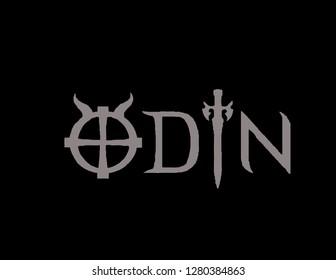 Odin logo vector