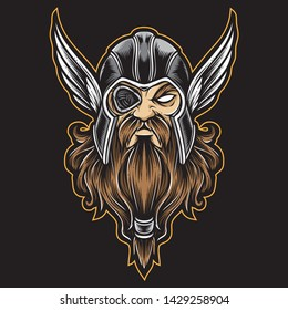 odin vector and  logo icon