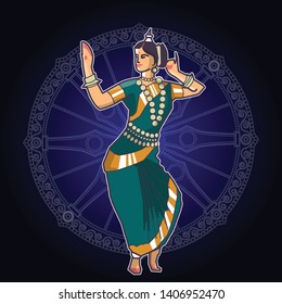 Odissi or Orissi is a major ancient Indian classical dance form.
