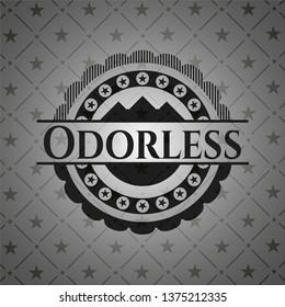 Odorless black badge