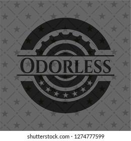 Odorless dark emblem
