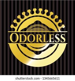 Odorless golden badge
