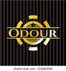 Odour shiny badge