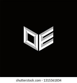 OE Logo Letter initial Designs Templete