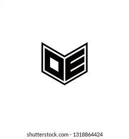OE Logo Letters initial Designs Template