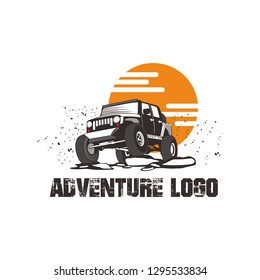 Off Road Jeep Vectors Logo Tamplate