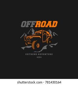 off road logo transportation