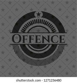 Offence black badge