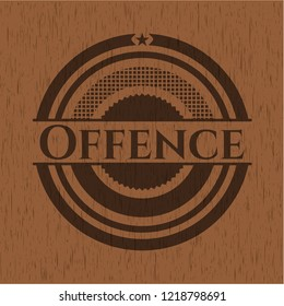 Offence wood icon or emblem